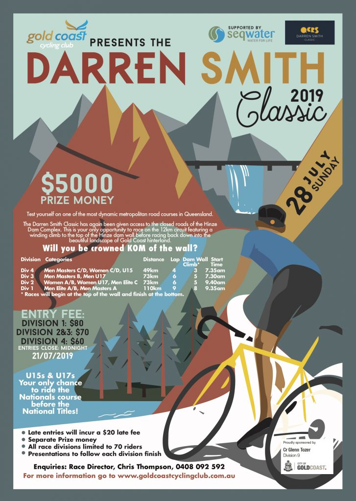 Darren Smith Classic @ Hinze dam